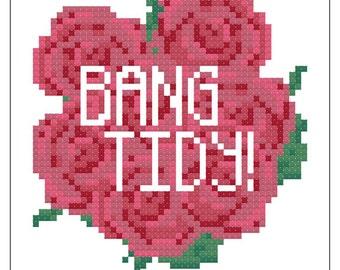 Valentryin' Cross Stitch Pattern 003 - Bang Tidy!