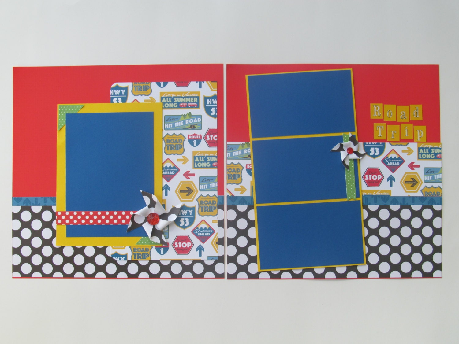 How to scrapbook a road trip - Sold By Blessedbydesign