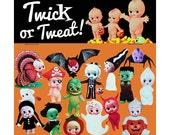 kewpie halloween stickers cute big eye dolly baby boopsiedaisy sticky poos