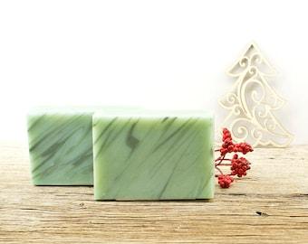 Eucalyptus Mint Soap | Herbal Soap, Natural Soap, Essential Oil Soap, Cold Process Soap, Gift Idea For Friends Women Men, Gift Wrap