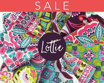 SALE Lottie Collection Fat Quarter Bundle full collection - by Maude Asbury for Blend Fabrics - 12 piece fat quarter bundle