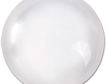 Round Glass 22mm Circle Glass Dome for Bezel set of 4 domes