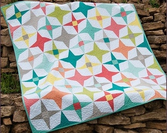 Fresh Lemon Quilts TWILIGHT Quilt Pattern Quilting Sewing Fabric