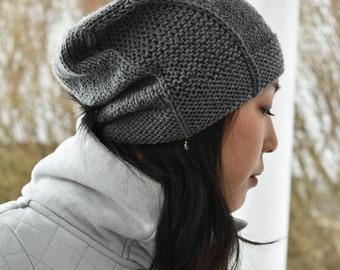 Rachel Hat - Medium Gray