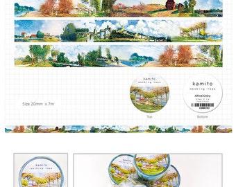 Alfred Sisley Washi Tape • Kamito Masking Tape (CRM00703)