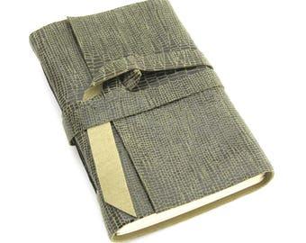 ON SALE! Small Leather Sketchbook Pocket Journal Handmade Leather Book Pocket Sized Leather ournal Olive Green Leather