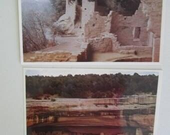 Vintage Mesa Verde National Park Postcards ~ Colorado Postcards
