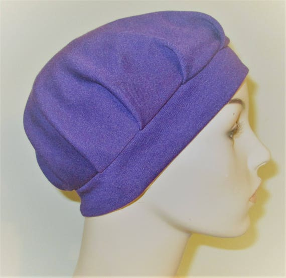 Pleated Knit Chemo Hat Avail in 14 Colors Womens Hat Cancer Beanie