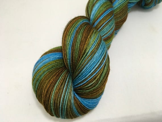 G. Weasley - Dyed to Order - Hand Dyed - Merino Wool Yarn - Fingering Weight - Harry Potter Yarn
