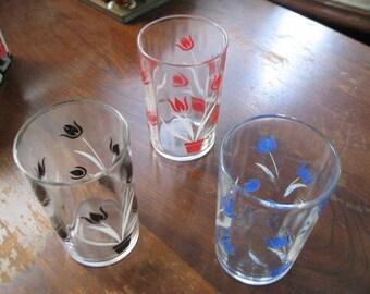 Oh Those 1950s SWANKY SWIG Juice GLASSES