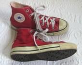converse converse all star  . red hi top converse . converse sneakers . chuck taylor