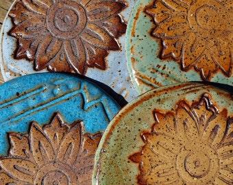 Coasters, Handmade Drink Coaster, Pottery coasters, Coaster set, Stoneware Coaster, Drinkware, Ceramic coasters, Barware