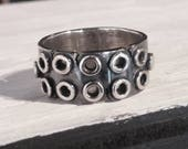 custom eyelet ring for L