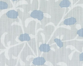 Cotway Mineral - Duralee Cotway Home Decor Fabric - Blue and Gray Yardage