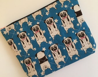 Zippered Pouch (Bulldog)
