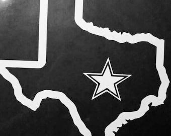 Dallas Cowboys Truck Etsy - Cowboy custom vinyl decals for trucks