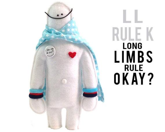 "The Mefits LL Rule K Doll & Storybook ""Long Limbs Rule K?"""