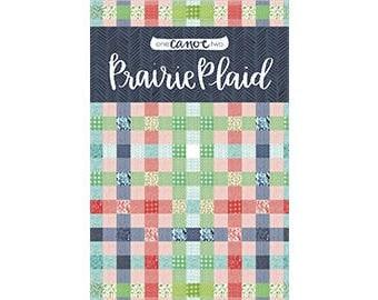 SALE // Prairie Plaid Quilt Pattern *PDF Download* // 1canoe2