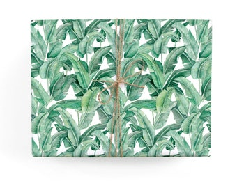 Banana Leaf Gift Wrap Set