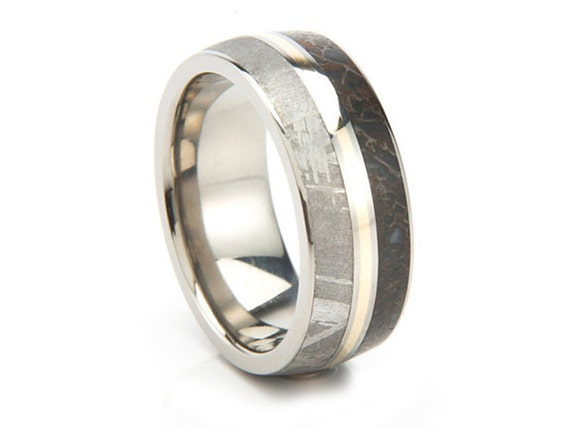 like this item - Dinosaur Bone Wedding Ring