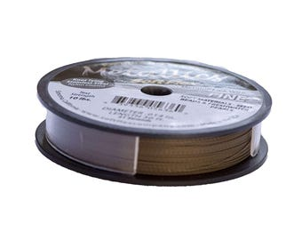 Soft Flex Metallics Beading Wire .014in 30ft Antique Brass Fine Metallics Wire, Soft Flex Wire, Metallics Beading Wire Medium SoftFlex 41372