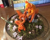 RESERVED FOR LYNNE fox terrarium