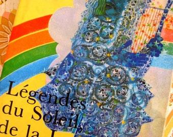 1970s Book - Legendes Du Soleil, De La Lune Et Des Etoiles