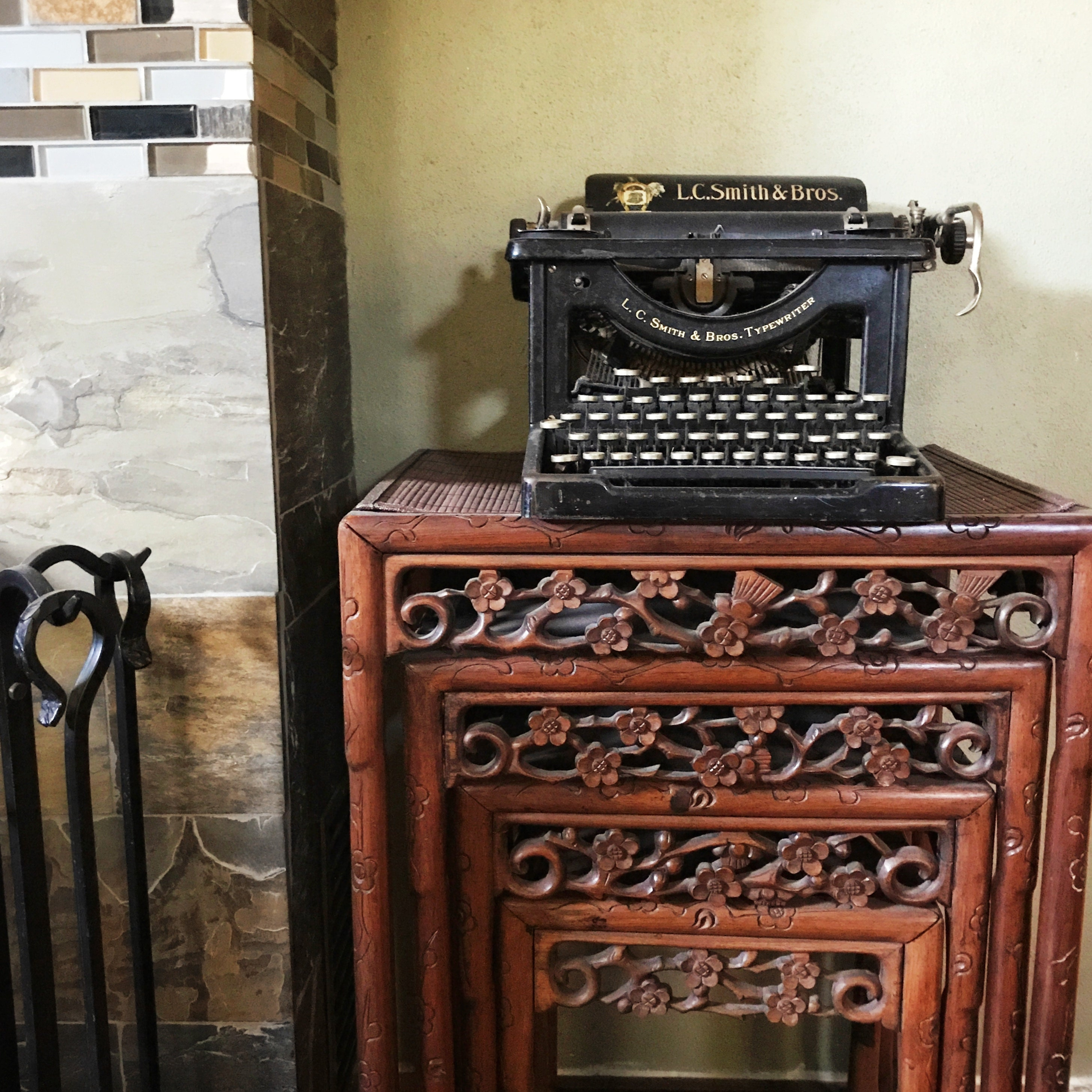 Antique 1800s L.L. Smith & Sons Typewriter