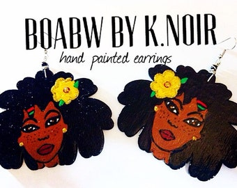 Organic Locs Godis Earrings