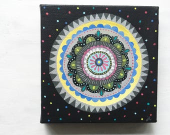 Radial Design 1 - Acrylic Painting