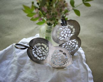 Vintage BonBon Candy Servers by Prill 1940s Silver Plated Serving Pieces Set of 2 Easter Holiday Dessert Table Decor Silverplate
