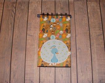 Peacock Notebook