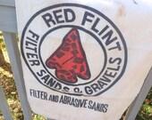 Red flint sand bag