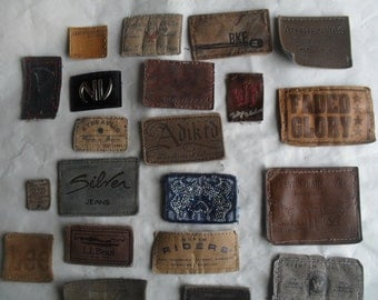 Denim Jean Tags DIY to Recycle Reuse Repurpose Craft Projects