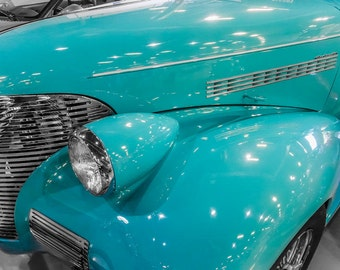 1935 Chevrolet Master Deluxe Car Photography, Automotive, Auto Dealer, Muscle, Sports Car, Mechanic, Boys Room, Garage, Dealership Art