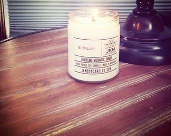 Shiplap woodwick candle