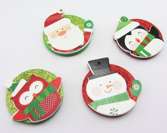 Christmas magnets | Etsy