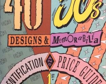 50's 50's Designs and Memorabilia Book - Identification and Price Guide - 1994