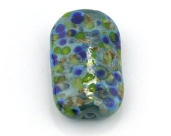 Coral Reef Focal Handmade Glass Lampwork Beads by Pink Beach Studios - SRA (2548)