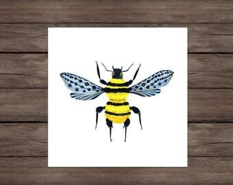 Perseverance: Bumblebee art print