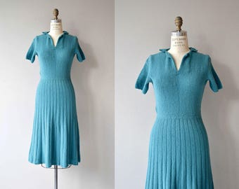 Best Semester knit dress | vintage 1950s knit dress | vintage 50s sweater dress