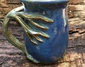 Tree  mugs SAVED for Kelee, nature lover, 17 oz. capacity,  tea mug , coffee mug, handmade mug, favorite mug