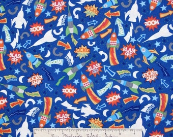 Outer space quilt etsy for Outer space fabric uk