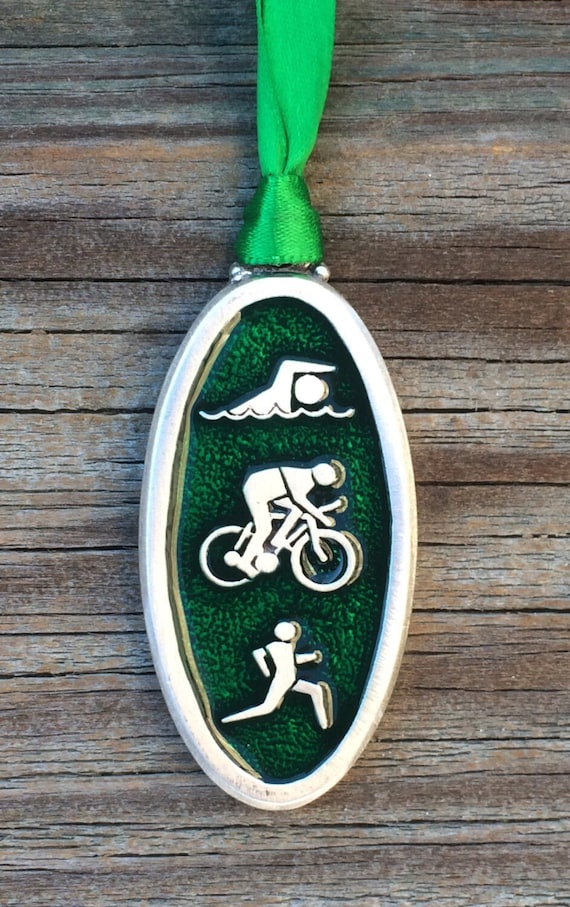 Triathlon Christmas Ornament GIFT for Triathlete Triathlon