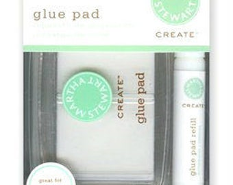 Martha Stewart Crafts - Glue Pad - Includes Glue Pad and Liquid Glue Refill