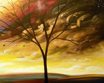 "Art Landscape painting Wall Art acrylic Painting On Canvas nursery art dr. seuss childrens art wall art wall decor large painting 56"""