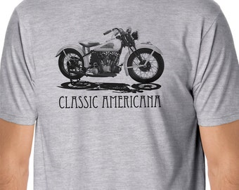 Classic Motorcycles - Classic Indian Motorcycle T-shirt