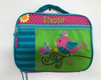 Personalized Stephen Joseph Bird Lunchbox