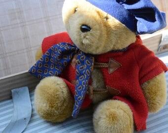 Vintage Paddington Bear, Paddington Teddy Bear, Paddington, Orso Paddington, Paddington Artist