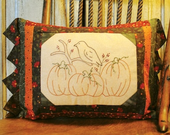 Autumn Blessings Embroidery Quilt Pattern download